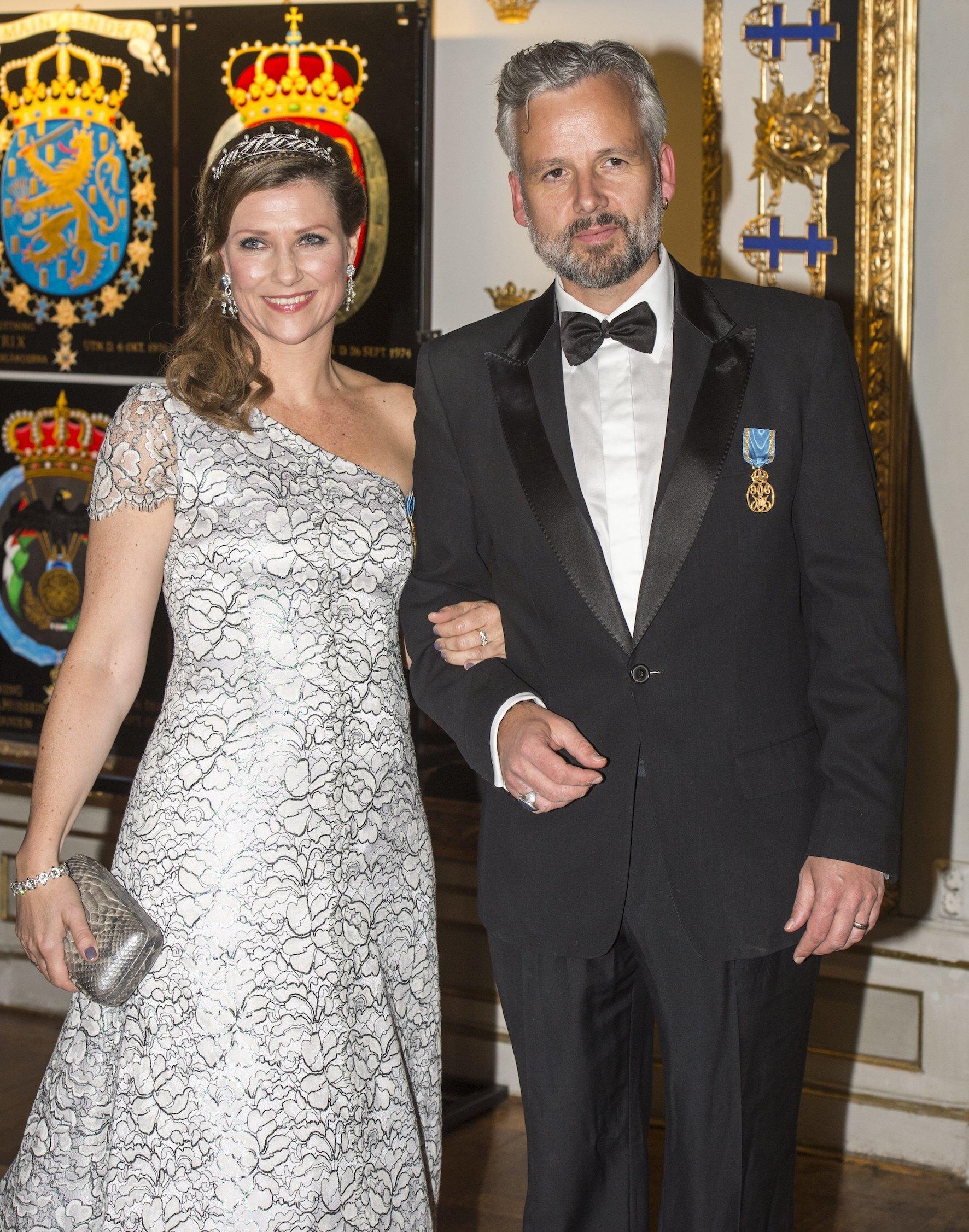 Ari Behn war von 2002 bis 2017 mit Prinzessin Märtha Louise verheiratet. Danach führte er eine Beziehung mit der Anwältin Ebba Rysst Heilmann.  © picture alliance/IBL Schweden