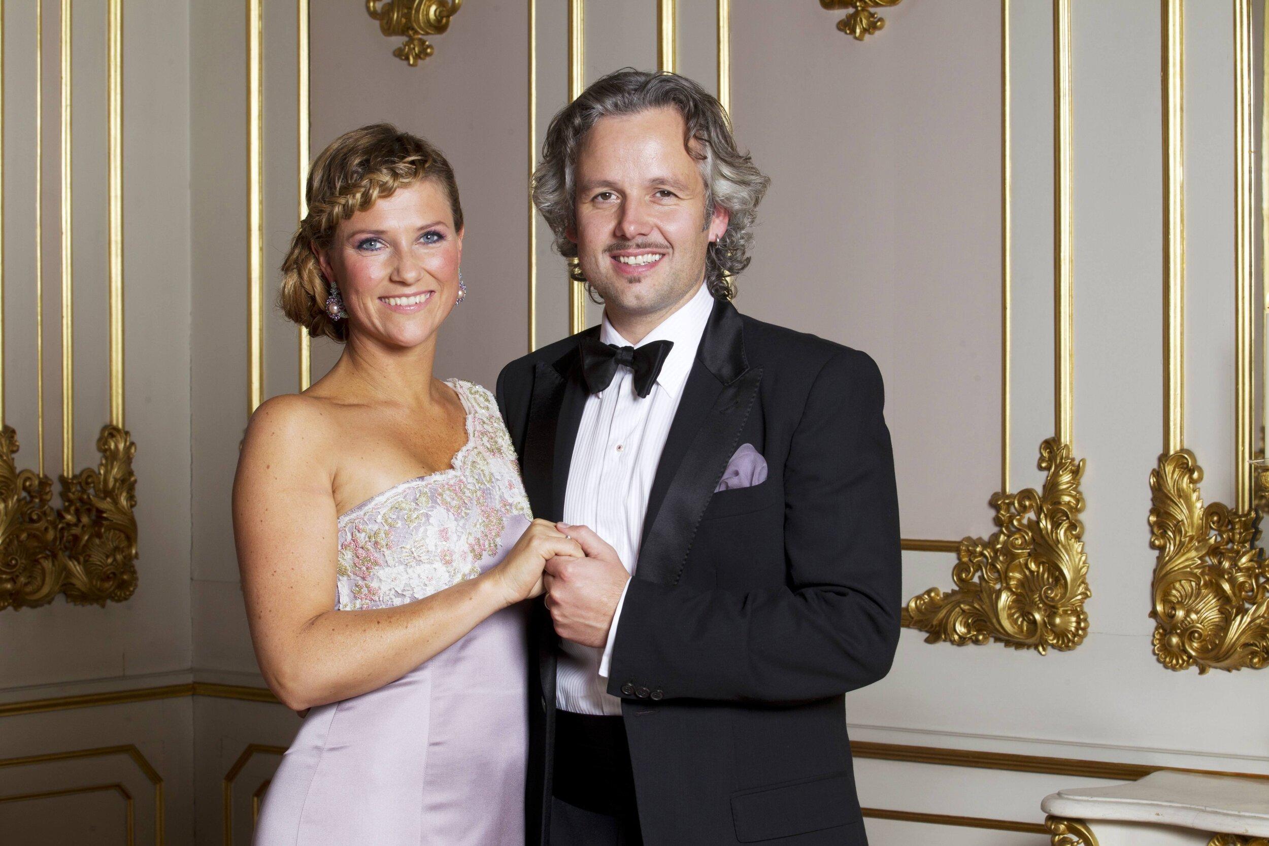 Ari Behn war 15 Jahre mit Prinzessin Märtha Louise von Norwegen verheiratet. Gemeinsam bekamen sie drei Töchter. © picture alliance/Scanpix NTB