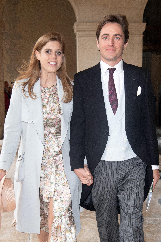Prinzessin Beatrice und Edoardo Mapelli Mozzi werden noch dieses Jahr heiraten. Doch kein Fernsehsender ist bereit, die Hochzeit zu übertragen.  © picture alliance / abaca