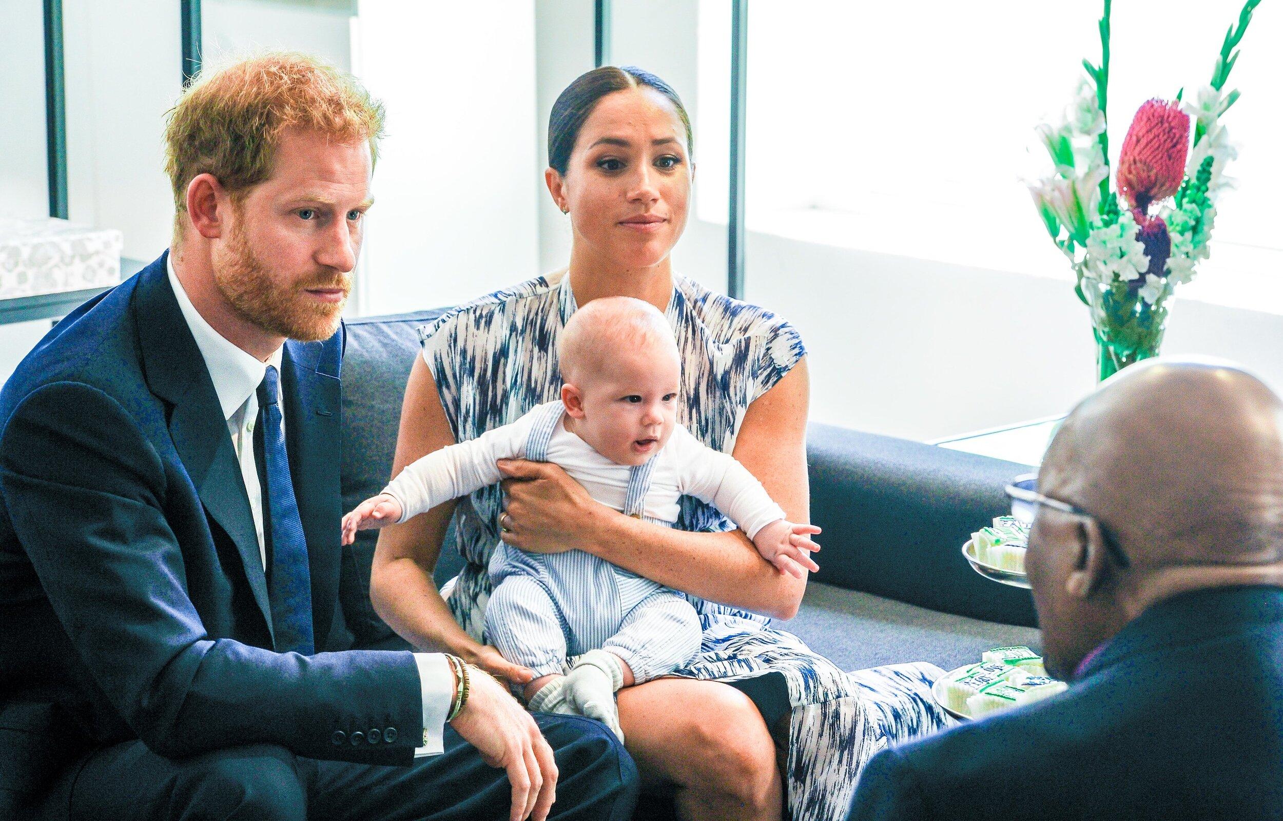 Prinz Harry und Herzogin Meghan besuchen gemeinsam mit Archie den den südafrikanische Bischof und Friedensnobelpreisträger Desmond Tutu.  © alliance / Dutch Press Photo/Cover Images