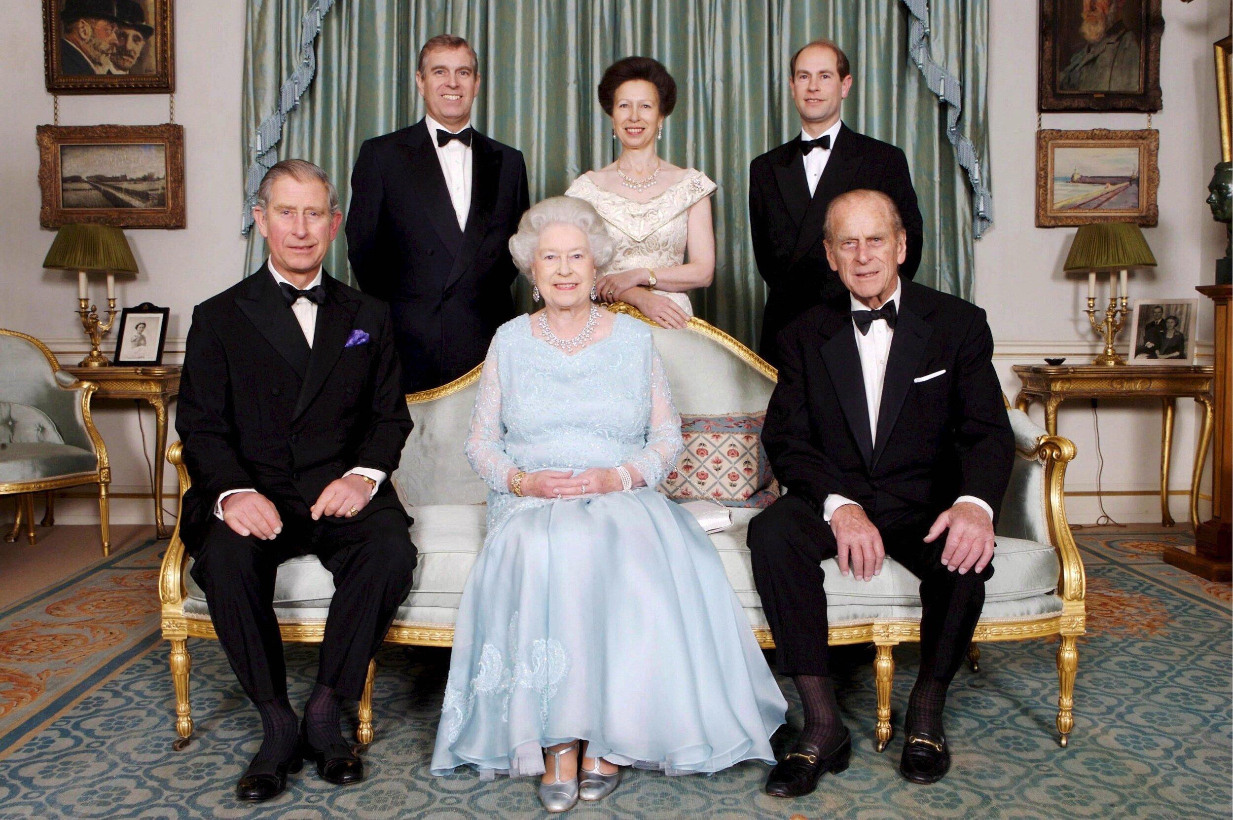 Queen Elizabeth und Prinz Philip haben vier gemeinsame Kinder bekommen. © epa-Bildfunk