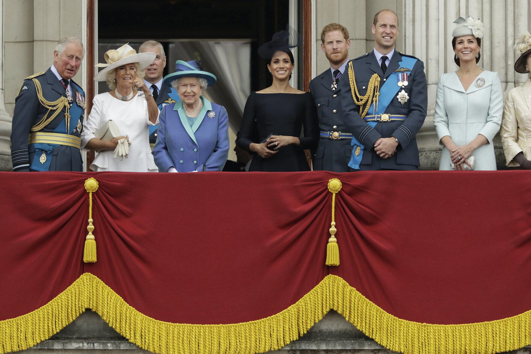 """Die neue Serie über die britische Königsfamilie wird so etwas wie ein """"Anti-The-Crown"""".  © picture alliance / AP Photo"""