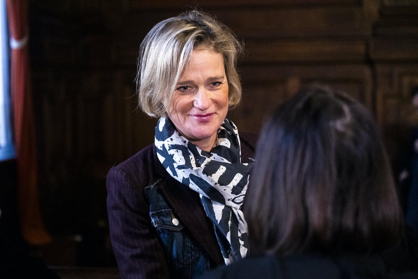 Seit 2013 kämpfte Delphine Boël vor Gericht, um als Tochter von Ex-König Albert anerkannt zu werden.  © picture alliance/Laurie Dieffembacq/BELGA/dpa