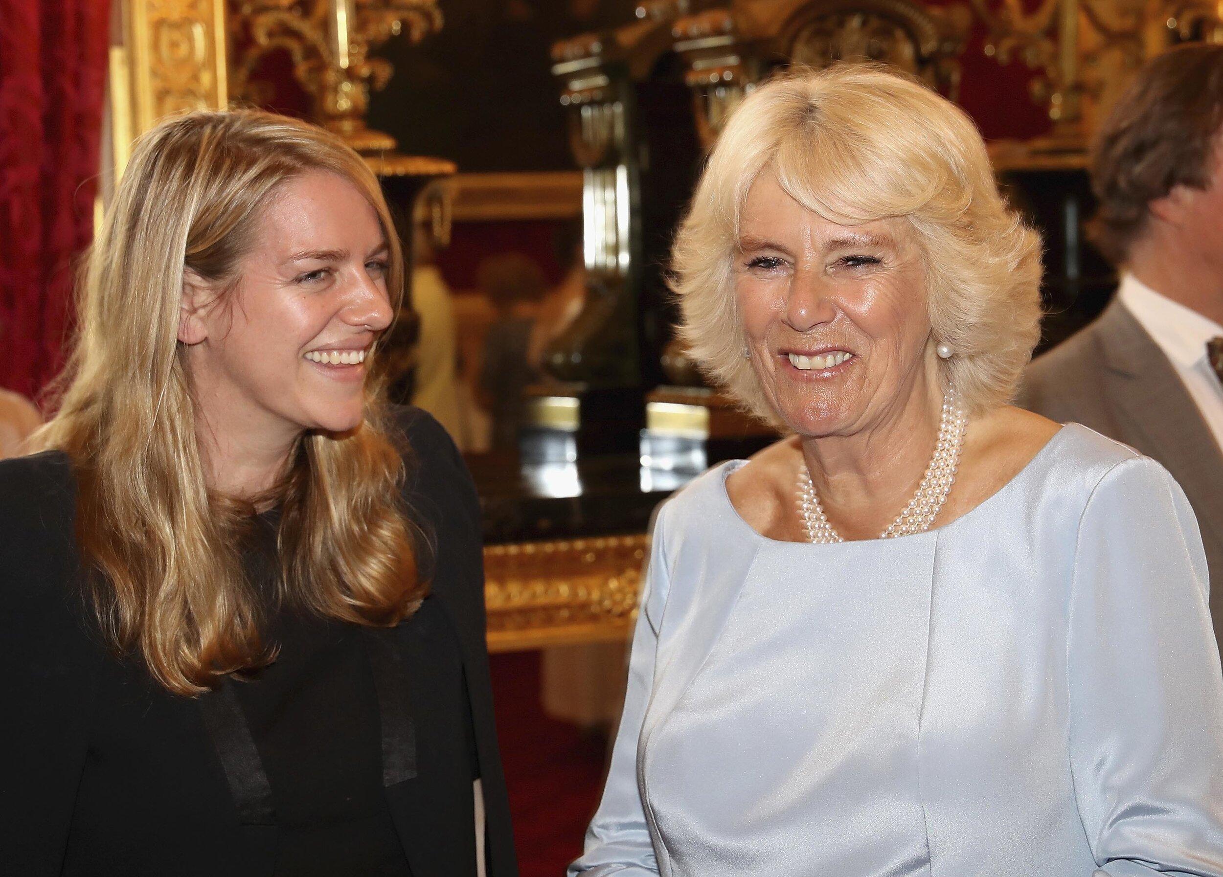 Laura Lopes und Herzogin Camilla