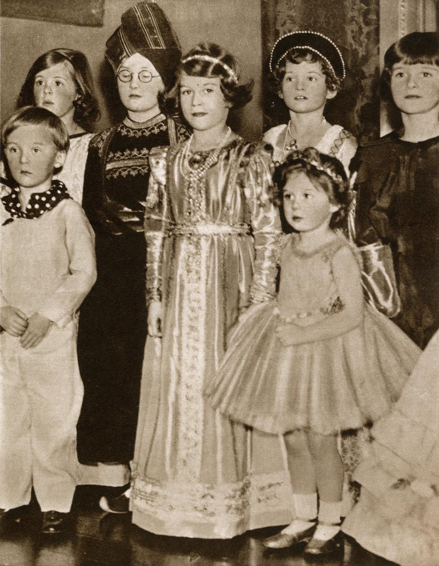 Queen Elizabeth als Kind