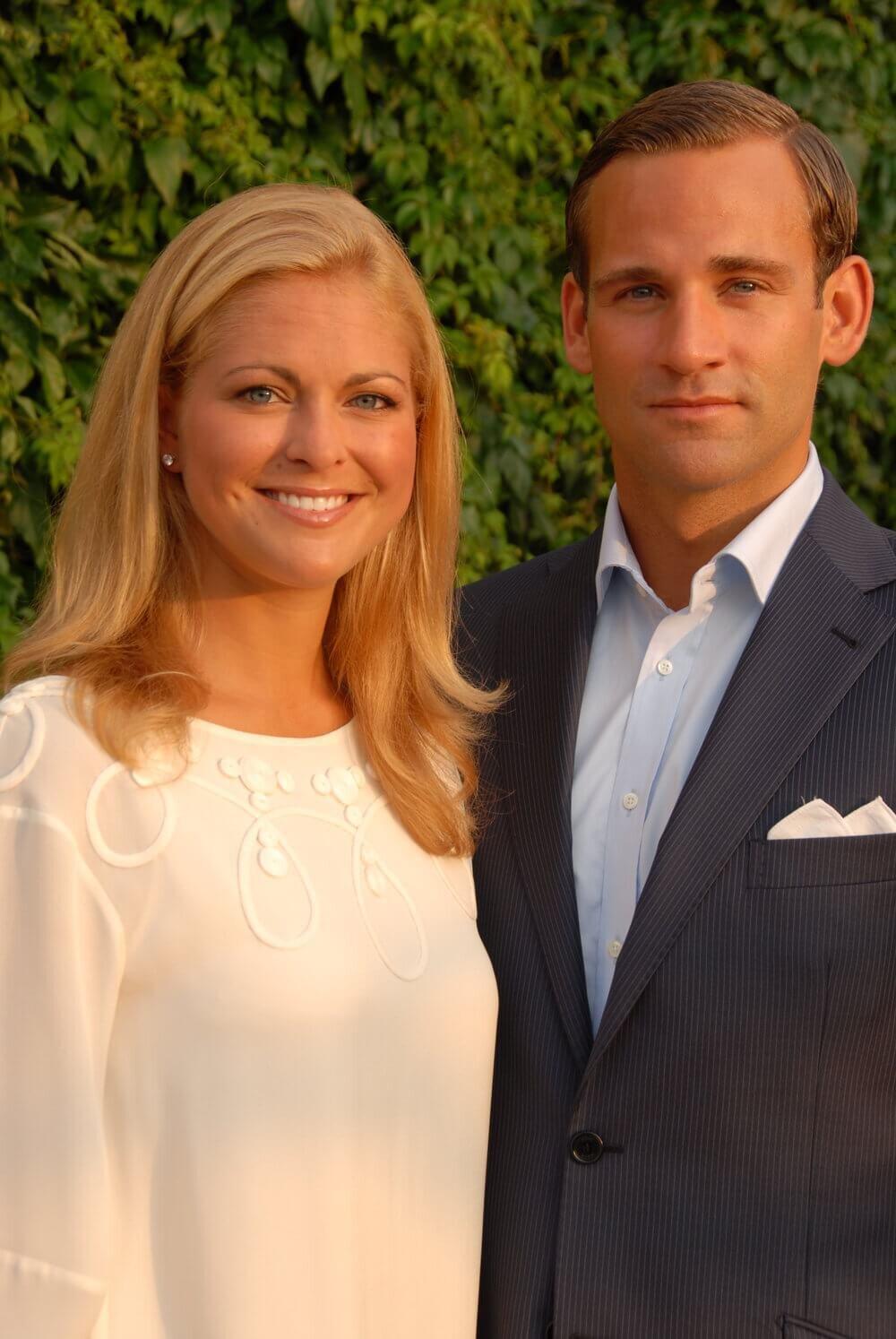 Prinzessin Madeleine und Jonas Bergström wirkten so glücklich, doch der Schein trügte. © The Royal Court