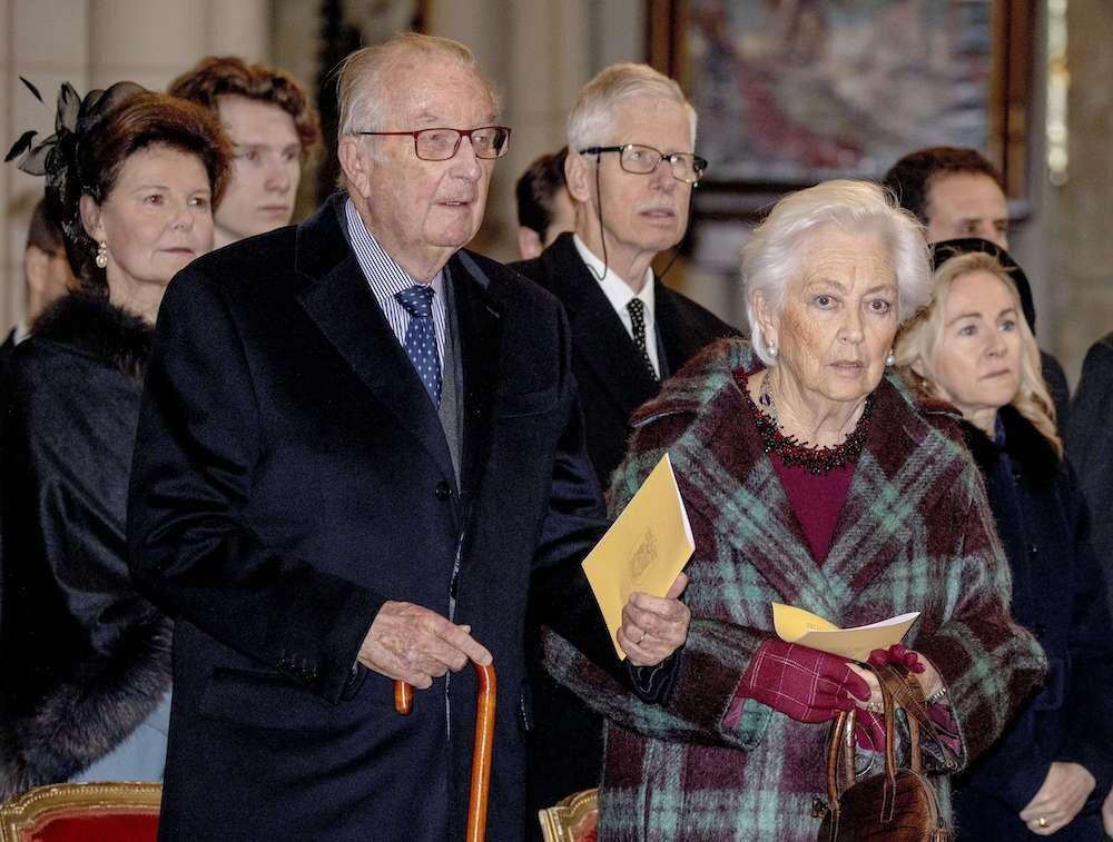 Am 2. Juli feiert das Paar seinen 61. Hochzeitstag. Trotz Skandale halten Paola und Albert zusammen. Der ehemalige König trägt seinen Ehering bis heute.  © picture alliance/RoyalPress Europe