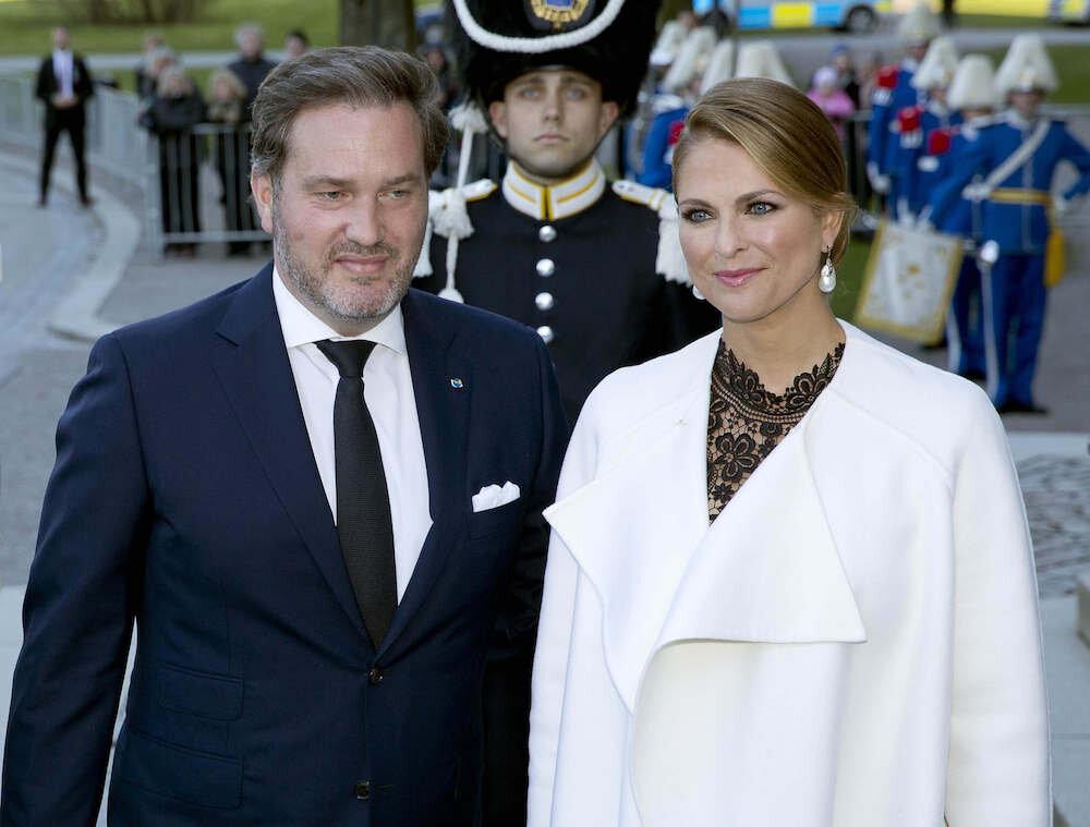 Christopher O'Neill und seine Frau Prinzessin Madeleine wurden Opfer eines Einbruchs.  © dpa
