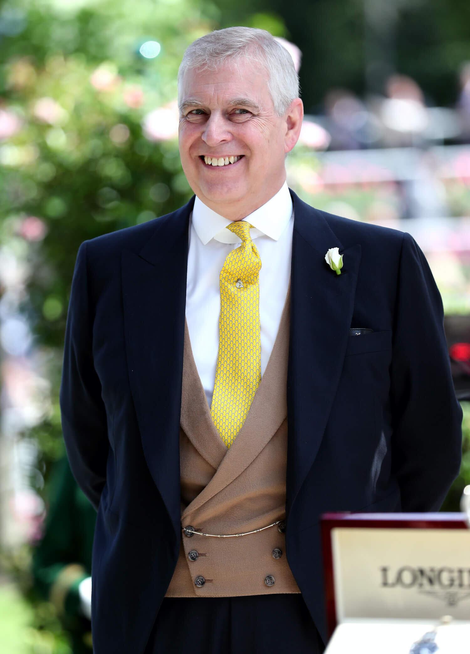 Prinz Andrew ist im November von seinen royalen Pflichten zurückgetreten.   ©picture alliance / empics