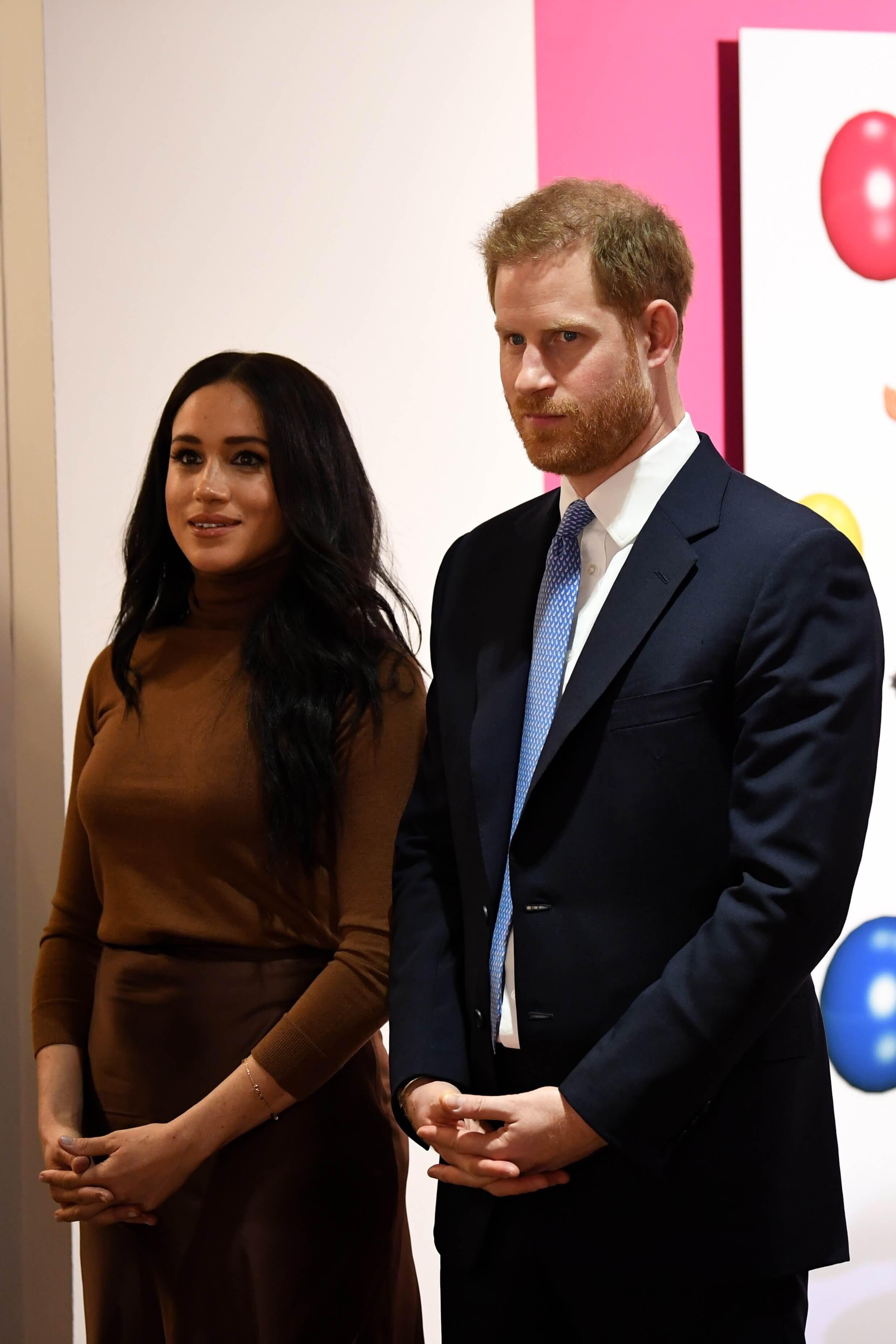 Herzogin Meghan und Prinz Harry geben in einem Statement Aufschluss darüber, wie ihre Zukunft aussehen soll.  © picture alliance / Photoshot