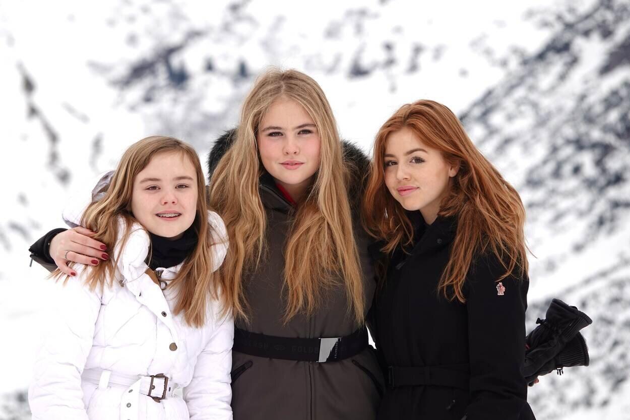 Prinzessin Alexia (r.) ist die zweitälteste Tochter von Königin Maxima und König Willem-Alexander. © RVD