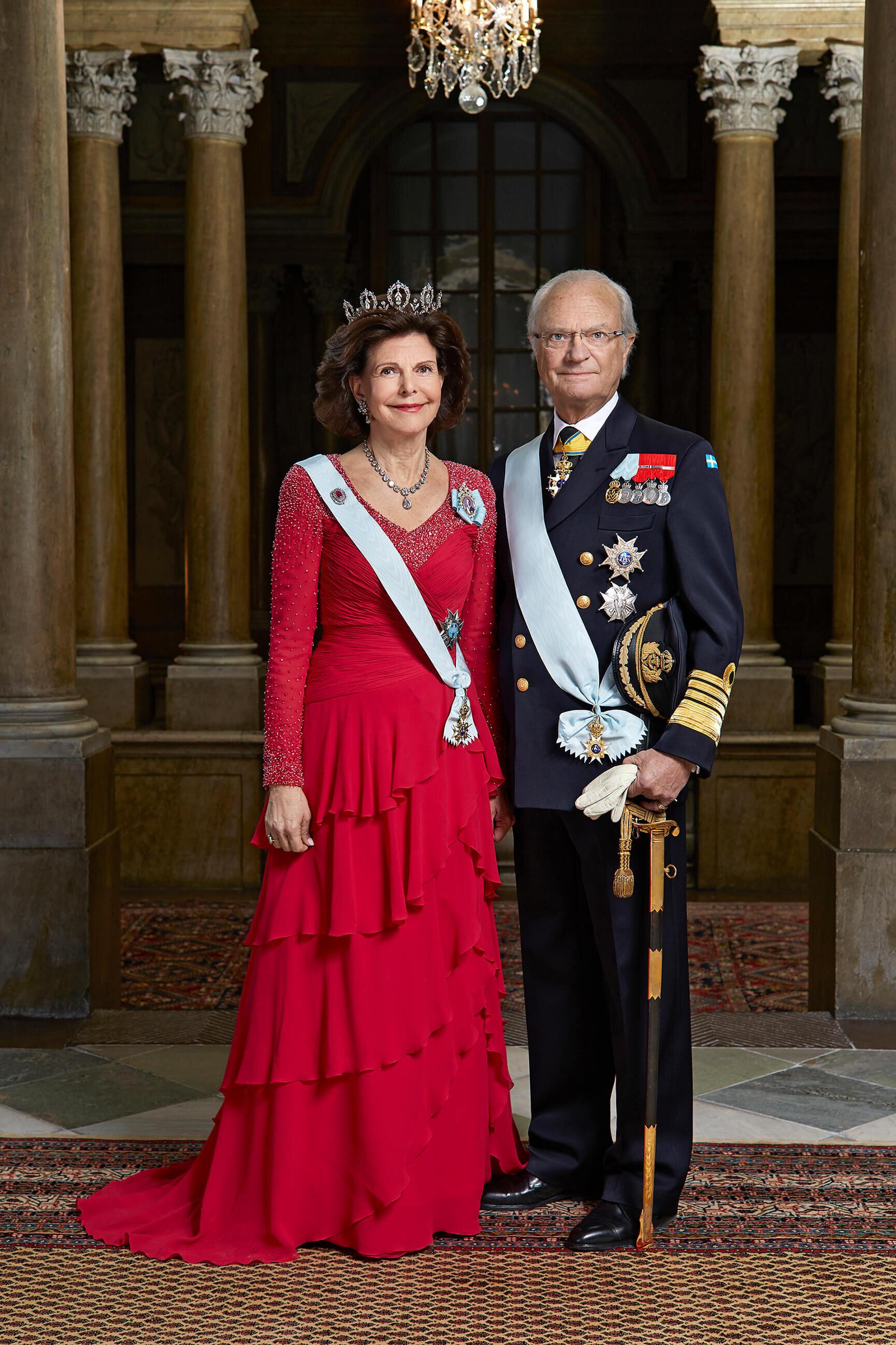 Aus Vorsicht mussten Königin Silvia und König Carl Gustaf das Repräsentationsdinner verschieben. Zu groß ist die Sorge vor dem Coronavirus. © Peter Knutson, Kungahuset.se