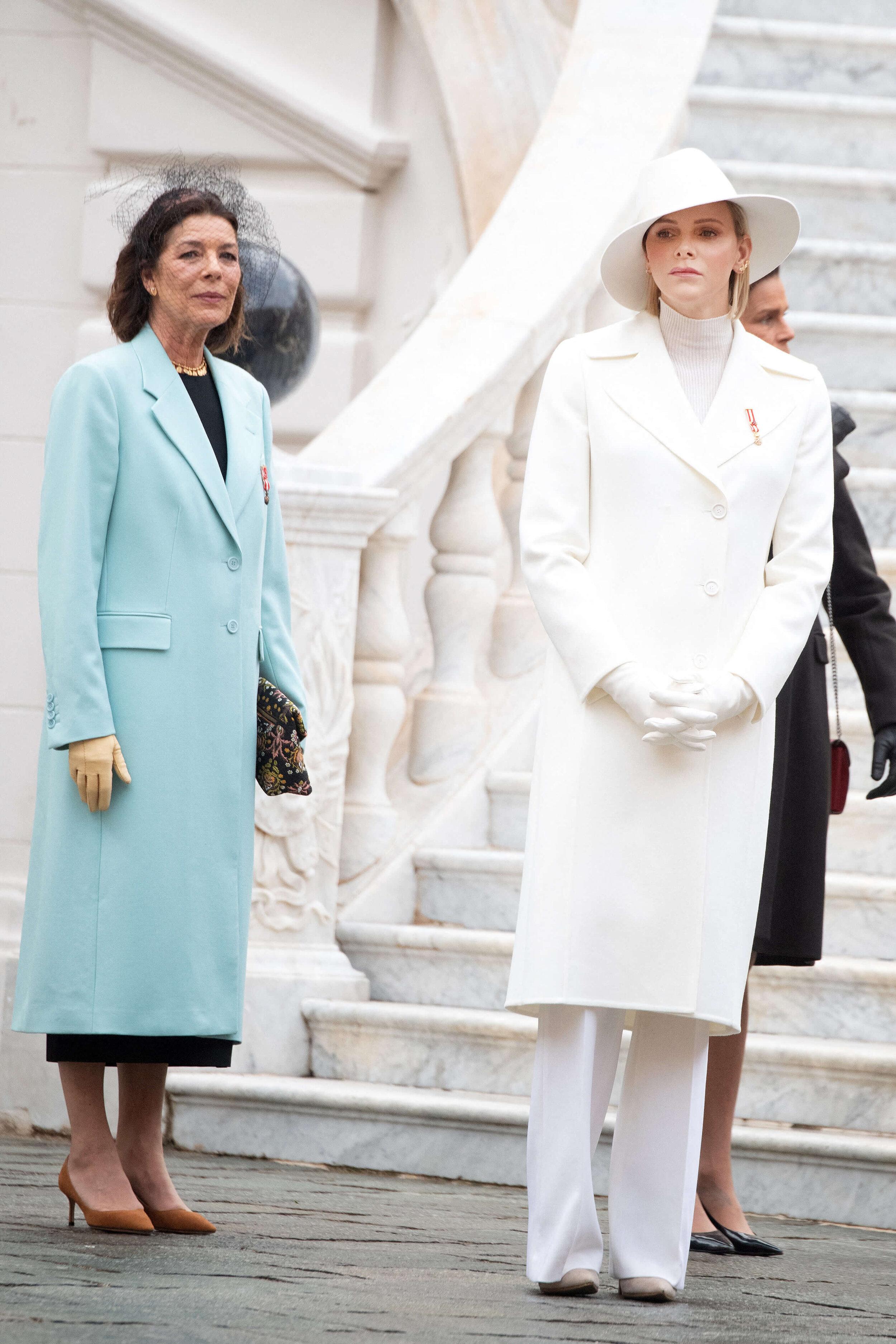 Prinzessin Caroline und Fürstin Charène