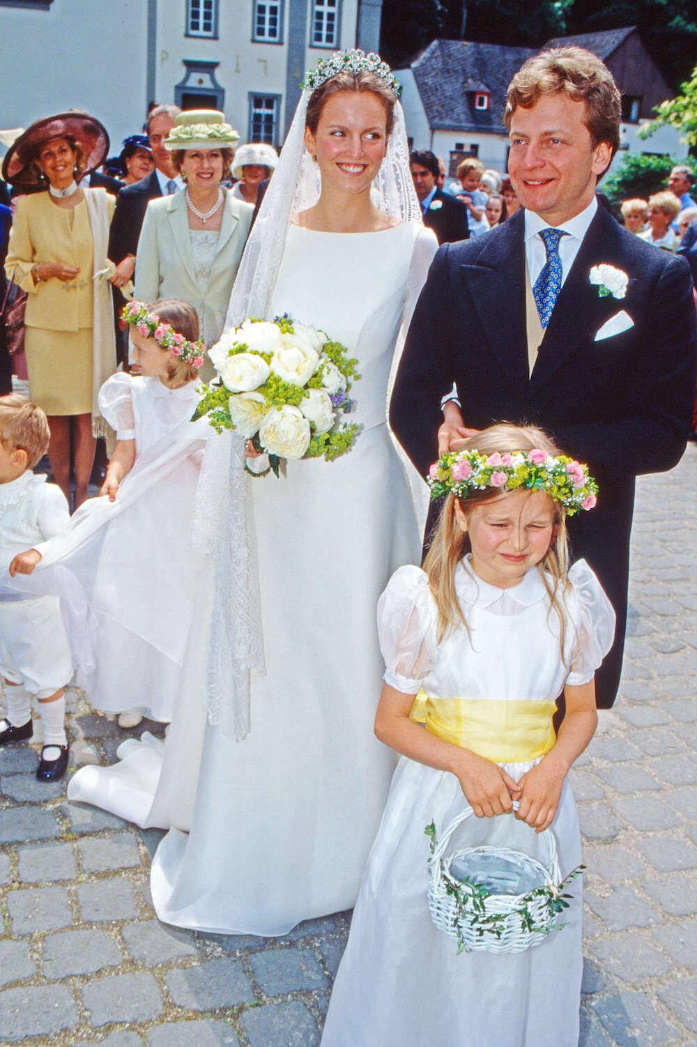 Prinzessin Filippa war überglücklich, als sie ihren Traummann Vittorio Mazzetti d'Albertis heiratete. Doch kurze Zeit später starb sie bei einem tragischen Autounfall. © picture alliance/United Archives