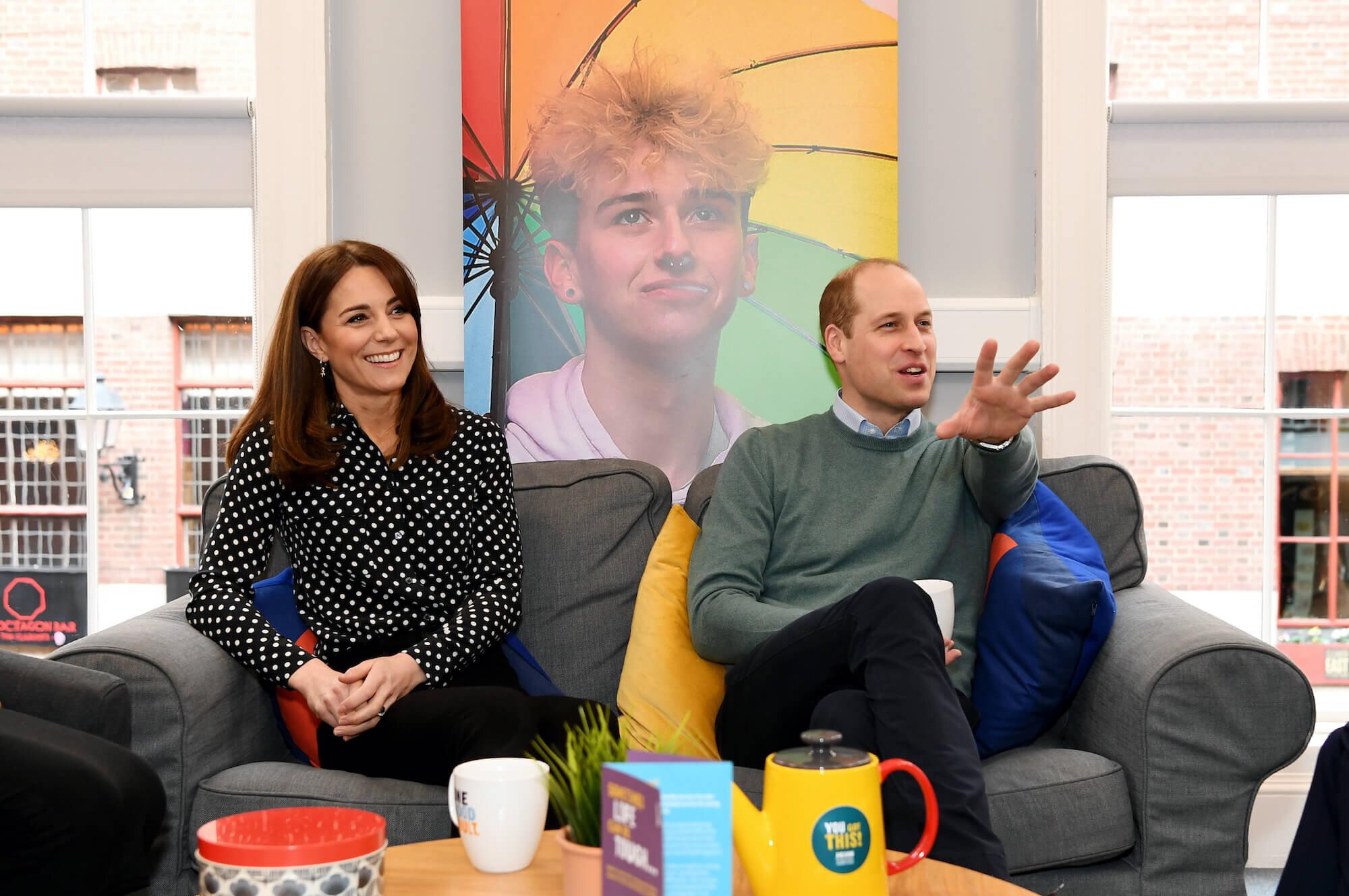 Herzogin Kate und Prinz William liegt das Thema mentale Gesundheit sehr am Herzen. © picture alliance / empics