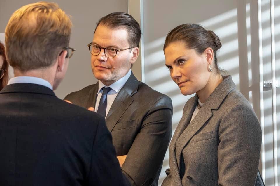 Kronprinzessin Victoria und Prinz Daniel wissen genau um die Gefahrenlage, dennoch absolvieren sie weiter öffentliche Auftritte.  © Victor Ericsson/Kungl. Hovstaterna