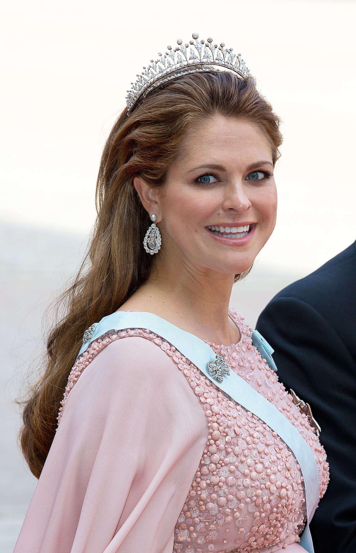 Prinzessin Madeleine trug die wertvollen Vasa-Ohrringe bereits zweimal in der Öffentlichkeit, Kronprinzessin Victoria traut sich nicht.  © dpa