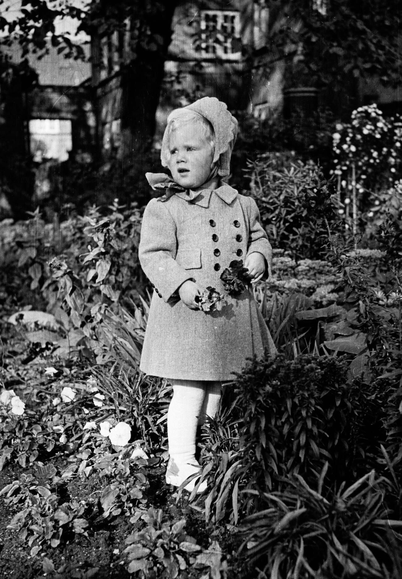 Margrethe war fünf Jahre alt, als der Zweite Weltkrieg endete. Sie erinnert sich bis heute an einen Bombenalarm am helllichten Tag.  © Picture Alliance