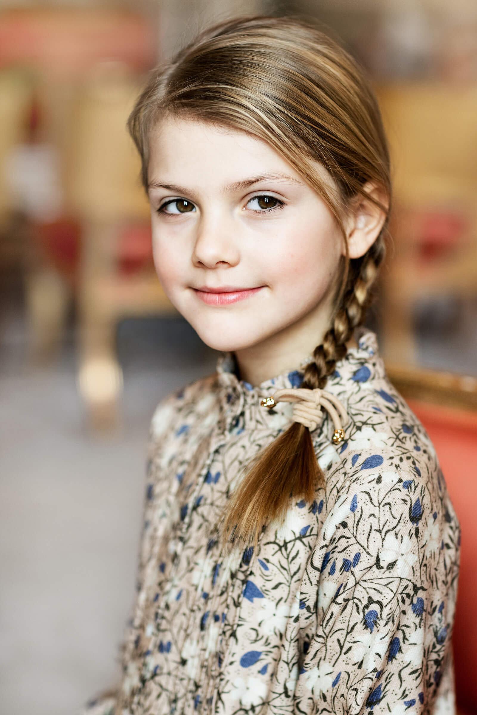 Der Name von Prinzessin Estelle hat eine ganz besondere Bedeutung für ihre Eltern. © Linda Broström Kungl. Hovstaatna