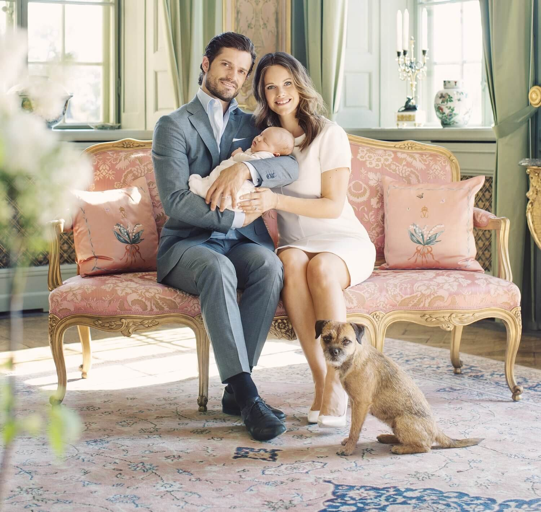 Prinz Carl Philip und Prinzessin Sofia teilen ihr Leben mit Hundedame Siri.  © Erika Gerdemark, Kungahuset.se