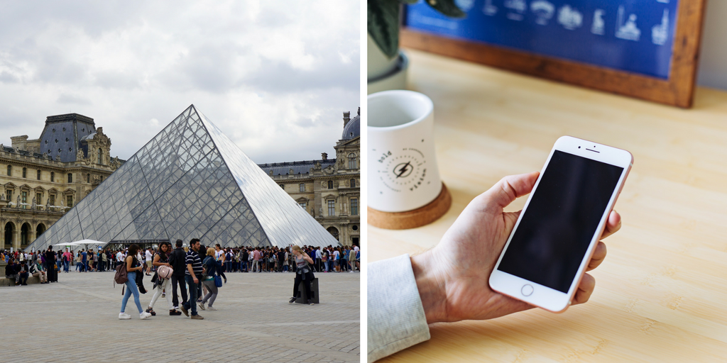 Wait in line for hours at the Louvre or Google image search the Mona Lisa?