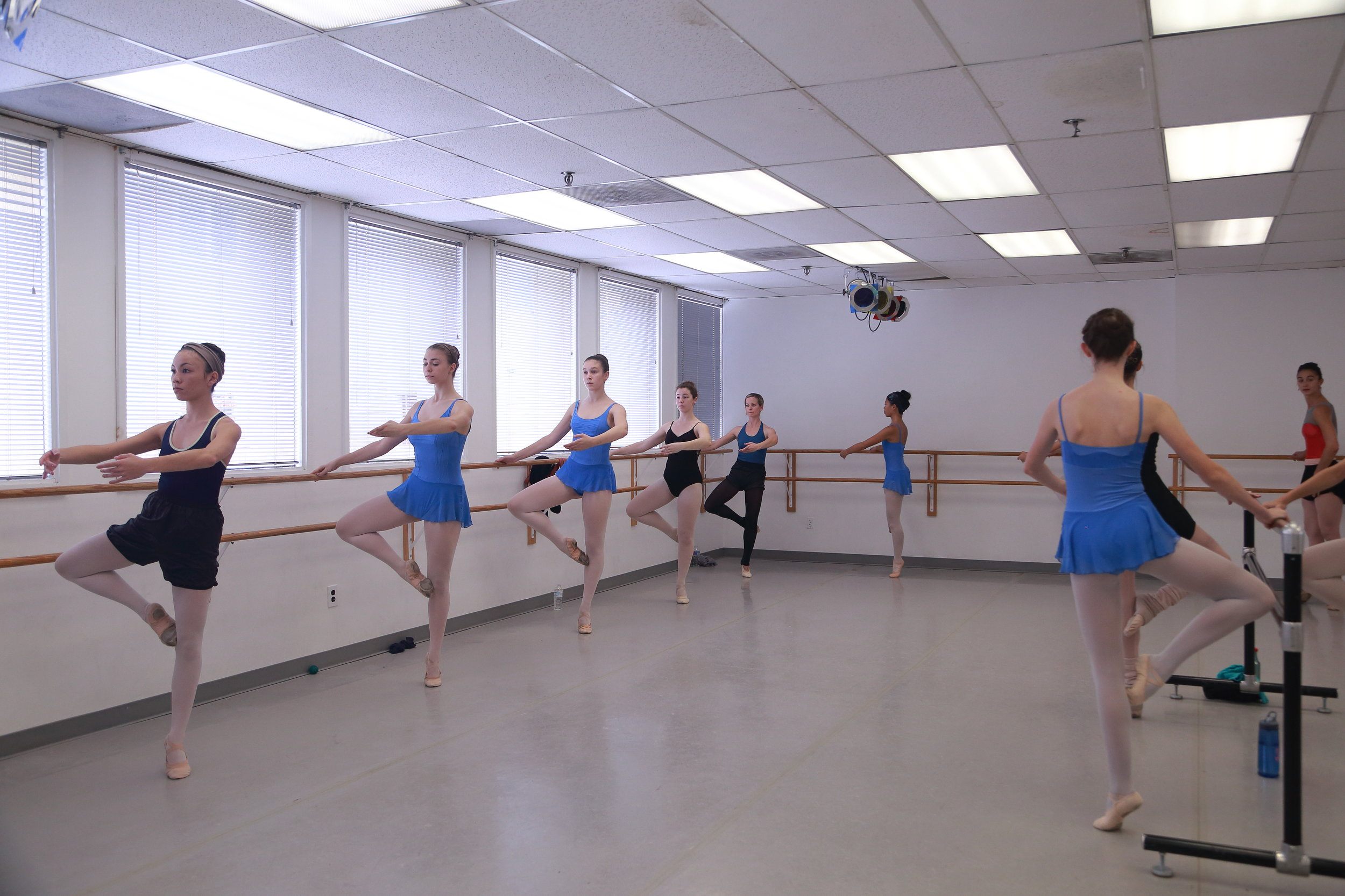 Professional Spring Floors - Our students at Misako Beats and Misako Ballet Studio are taught on state-of-the-art dance studios complete with authentic spring action floors. This ensures that our students have only the best in safety and comfort at a professional level.