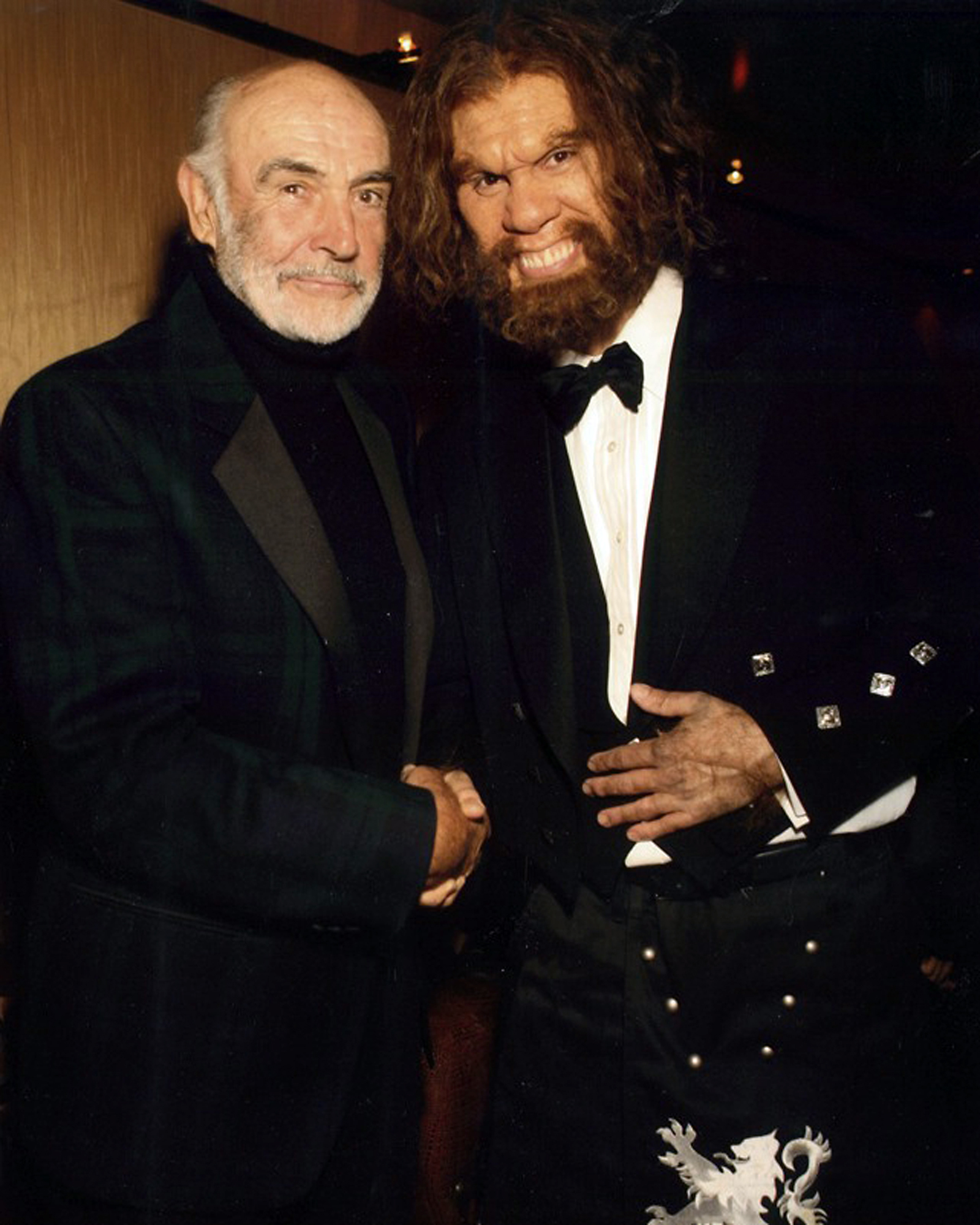 With Sean Connery @ Scottish Charity event for GEICO