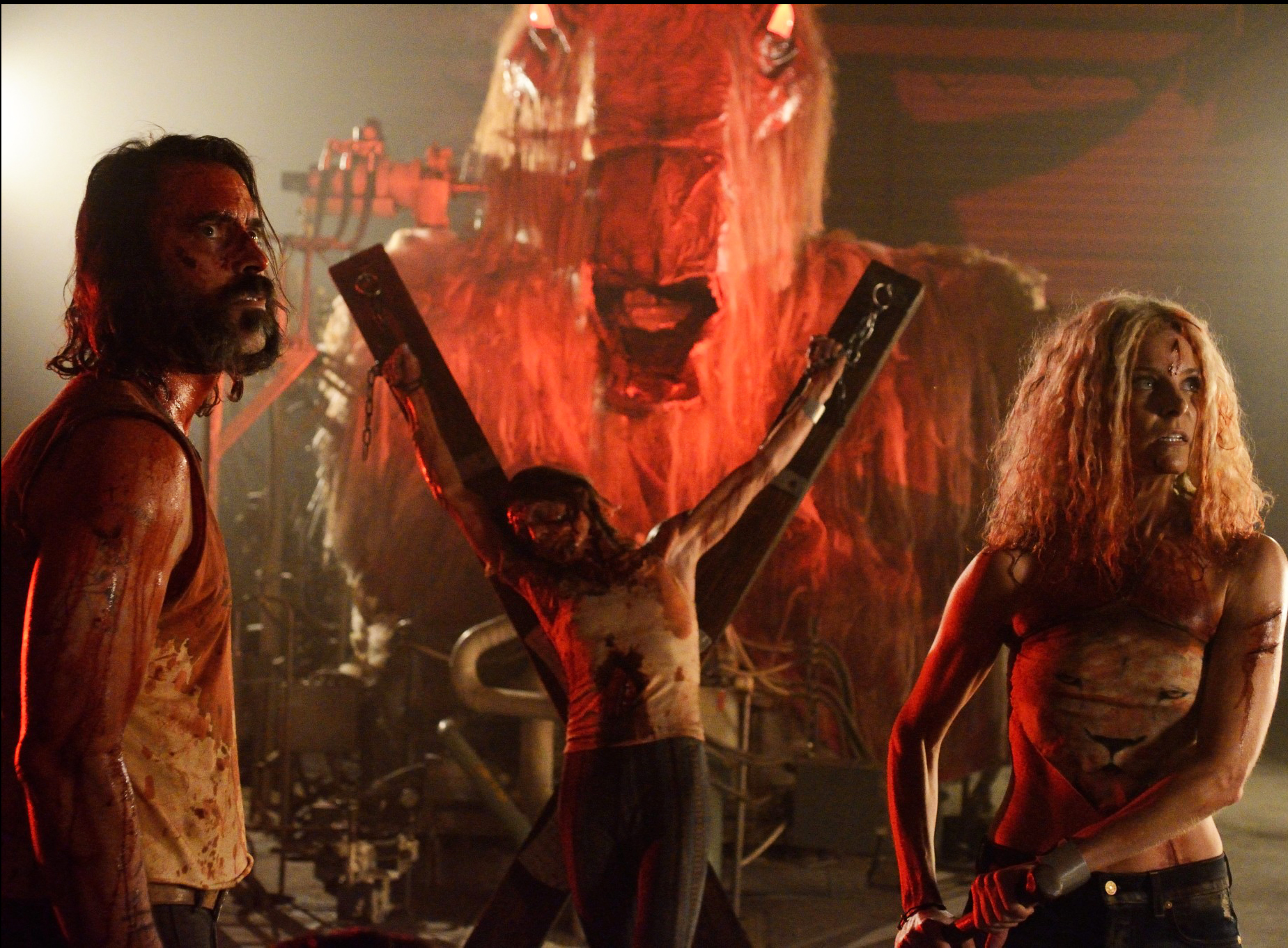 Rob Zombie's 31 with Meg Foster and Sheri Moon Zombie.