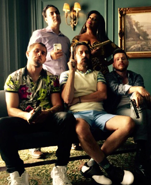 CLAWS with Niecy Nash, Jason Antoon, Jack Kesy and Kevin Rankin.