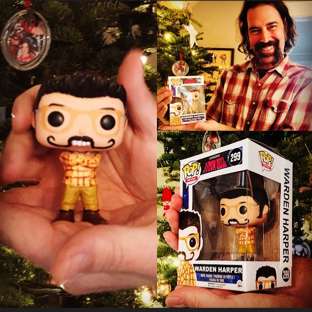 THREE FROM HELL with WARDEN HARPER Pop-Toy.