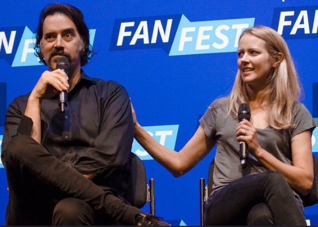 @ FAN FEST CON with Amy Acker for THE GIFTED