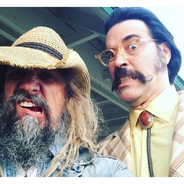 THREE FROM HELL as Warden Virgil Dallas Harper with Rob Zombie.