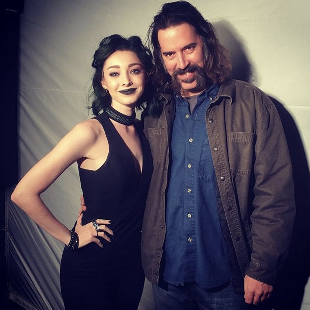 THE GIFTED with Emma Dumont.