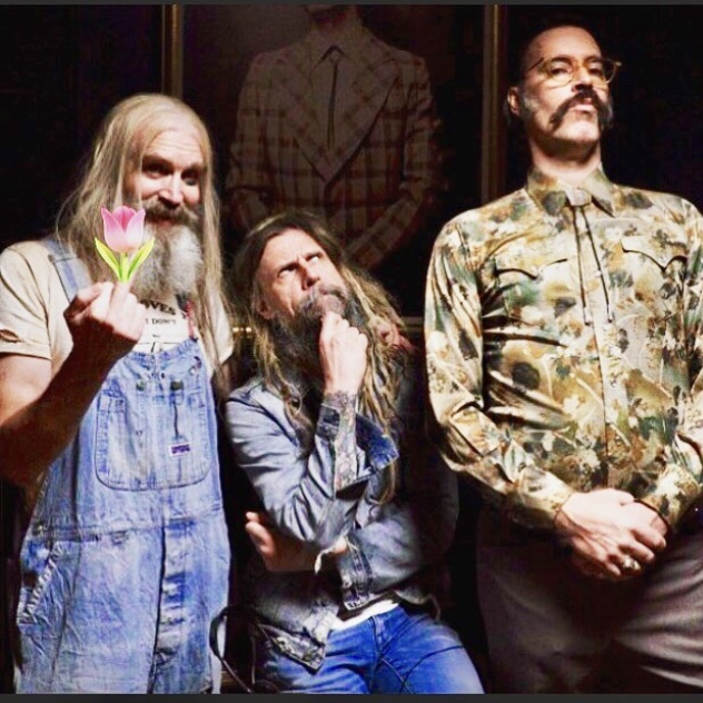 THREE FROM HELL with Bill Moseley and Rob Zombie.