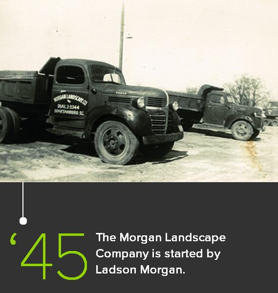 Morgan Landscape Company in 1945