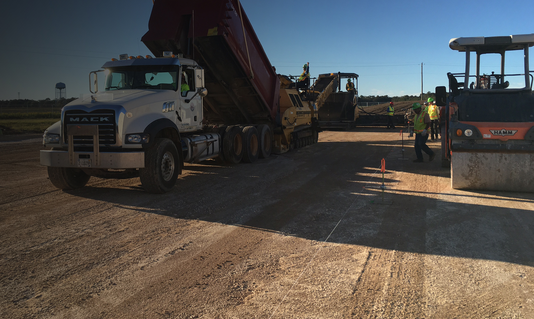 EXPERTS IN  ROLLER COMPACTED CONCRETE