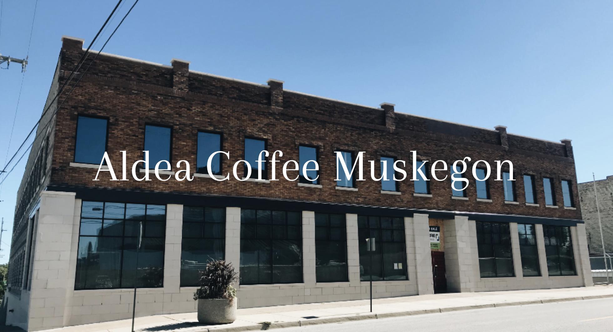 Aldea Coffee's new location in Muskegon.