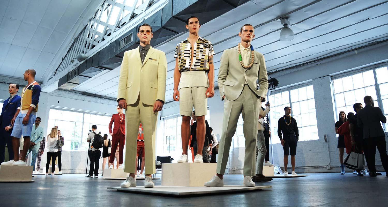 AmeriChina亲临纽约时装周2016SS David Hart秀场