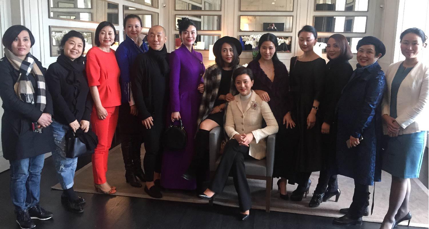 AmeriChina members with Lan Yang