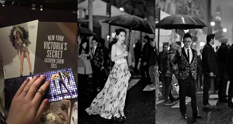 维多利亚的秘密时尚秀邀请函 / AmeriChina会员于维密秀场外留念