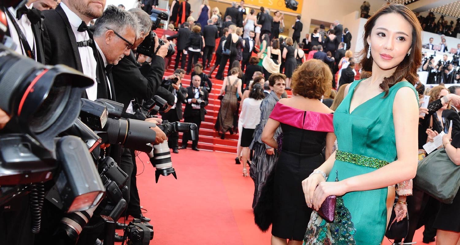 AmeriChina's VIP at the Red Carpet of Cannes International Film Festival