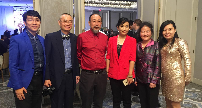Worldly-renowned actor Sun Haiyin and Lyu Liping