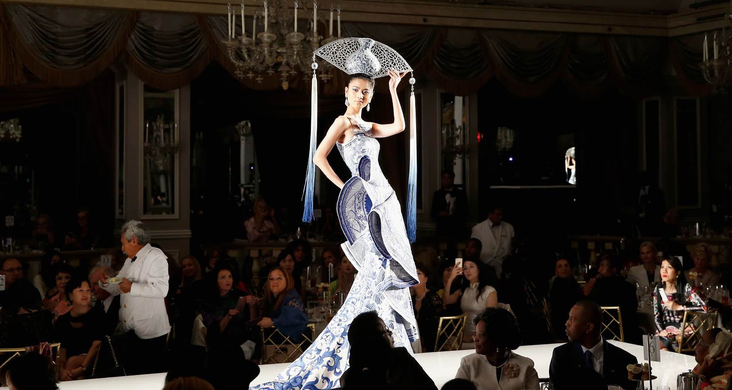 """China: Through the Looking Glass"" high-end fashion show by Ms. Guo Pei at the Metropolitan Museum of Art"