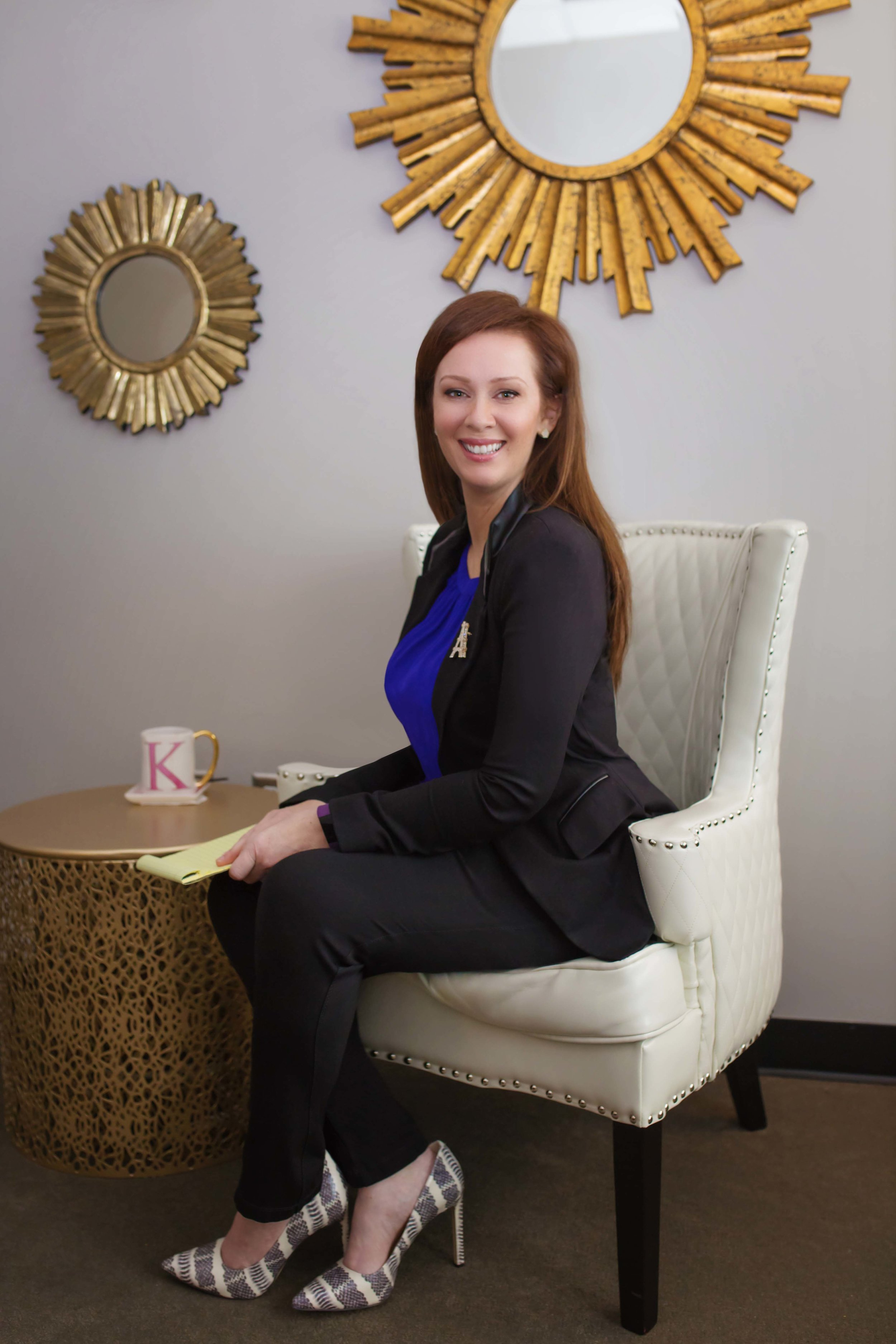 Kim Kertsburg, LCSW provides counseling and support to women and families