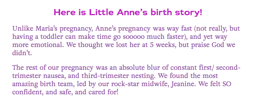 Birth at Plano Birthplace in Plano Texas with Nurse Midwife - Birth Center