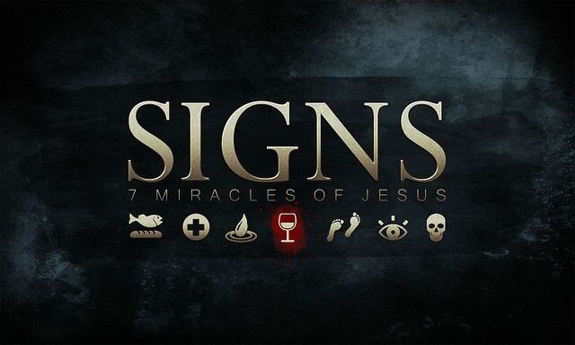 SIGNS - In this series we're taking a look at the 7 sign miracles in John's Gospel and seeing what they prove to us about Jesus.