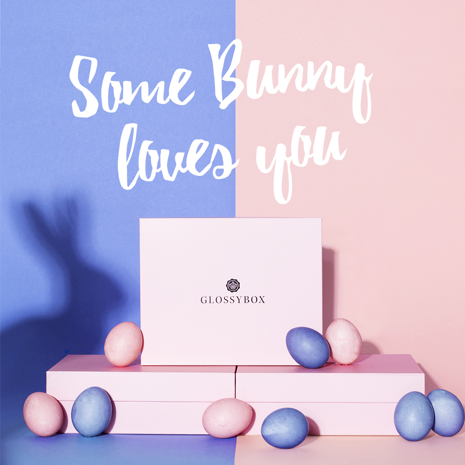 SOME BUNNY LOVES YOU EDITION  March 2016, Glossybox Germany