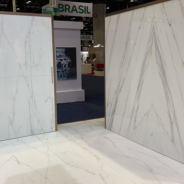 Our booth at Coverings 2019