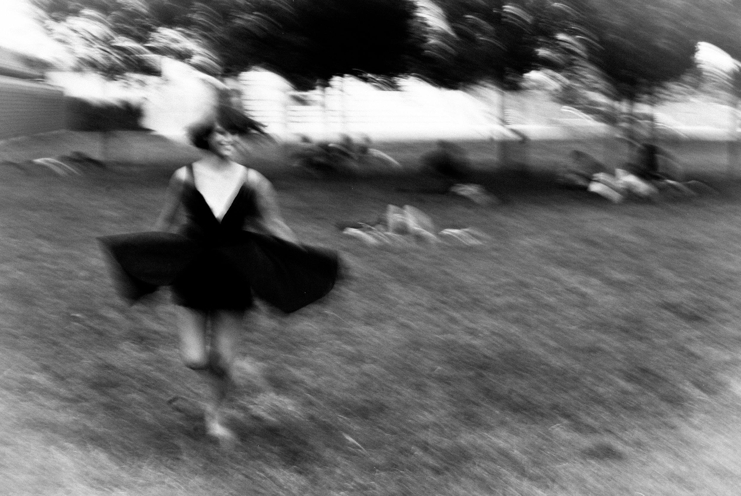 Paris sort kjole