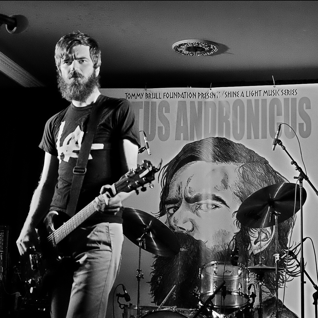 TITUS ANDRONICUS / HAPPINESS  10-6-16 Cannon's Blackthorn, Rockville Centre NY